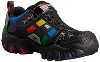 Skechers Kids Damager Game Kicks Light-up Sneaker,Black/