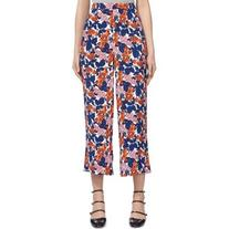 Whistles Damson Floral Print Culottes