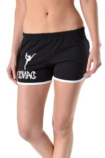 Beachcoco Dance Printed Active Shorts
