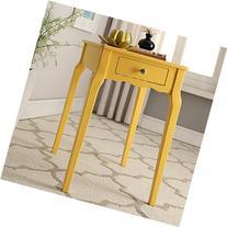 INSPIRE Q Daniella 1-Drawer Wood Storage Accent Classically