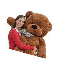 "Joyfay 63"" 160cm Dark Brown Giant Teddy Bear Big Soft"