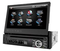 Power Acoustik PTID-8920B In-Dash DVD AM/FM Receiver with 7-