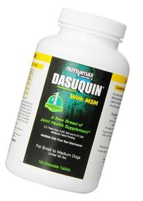Nutramax Dasuquin with MSM Supplemental Chew Tablets for