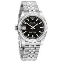 Rolex Datejust Lady 31 Black Dial Stainless Steel Rolex
