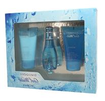 Cool Water Perfume by Davidoff Set - 1 oz EDT Spray, 1.7 oz