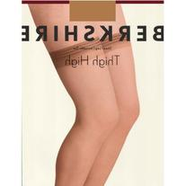 Berkshire All Day Sheer Thigh High - Sandalfoot, Ivory, Q1