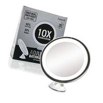 Daylight LED 10X Magnifying Makeup Mirror - Lighted Travel