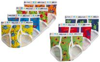 Fruit of the Loom Toddler Boy Days of the Week Briefs, 7-