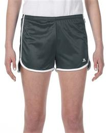 Russell Athletic Ladies' Dazzle Short - STEALTH/WHITE - S