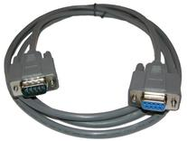 DB9 Male to Female Extension Serial Straight Thru Cable 15