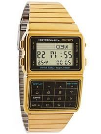 Casio DBC611G-1D Casio Gold & Black Digital Watch - Gold /