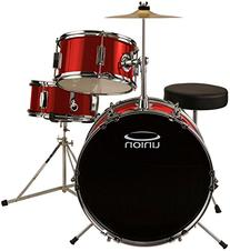 Union DBJ3071 3-Piece Junior Drum Set with Hardware, Cymbal