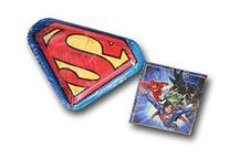 DC Comics Superman Justice League Party Bundle - Plates and