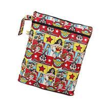 Bumkins DC Comics Wet Dry Bag, Wonder Woman Comic