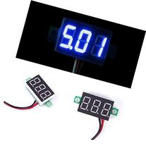 DC 0-30V LED Display Digital Voltage Voltmeter Panel Motor