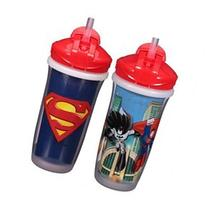 DC Comics Super Friends Stage 3 2 Pack 9 Ounce Insulated