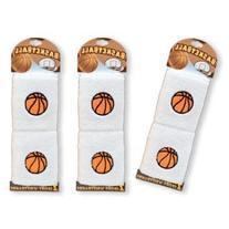 DDI 491107 Basketball Wristbands 2 Per Card Case Of 72