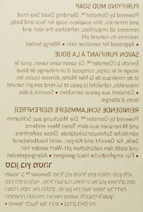 AHAVA Dead Sea Purifying Mud Soap, 3.4 Oz