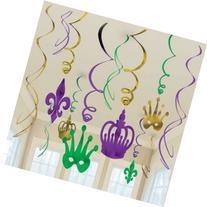 decoration mardi gras swirl value pack