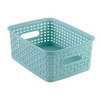 See Jane Work Decorative Storage, Small Woven Bin, 10in.H x