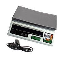 Digital Deli Weight Scale Price Computing Food Produce 60LB