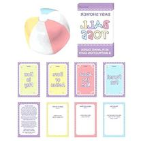 Amscan Delightful Question Ball Game Baby Shower Party