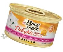 Fancy Feast Delights Grilled Chicken & Cheddar Cheese Feast