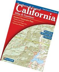 Southern & Central California Atlas & Gazetteer: Detailed