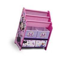 Delta Children Disney Minnie Book & Toy Organizer