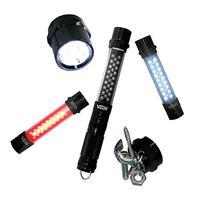 Viisliam Deluxe 4-in-1 LED Flashlight, Work Light, Strobe
