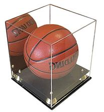 UV Protection Acrylic Basketball/Soccer Display Case with
