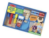 Melissa & Doug Deluxe Tool Belt Set - 5 Wooden Tools, 8