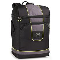 High Sierra Deluxe Bucket Boot Bag, Black/Charcoal/