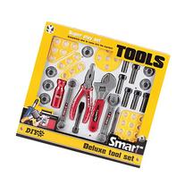 Deluxe Construction Tool Set For Kids With 23 Pieces by