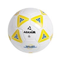Mikasa Deluxe Cushioned Cover Club Soccer Ball, Yellow, Size