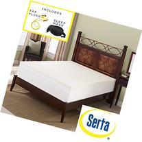 Serta Deluxe 2-inch High Density 4 Pound Memory Foam