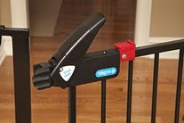 Regalo Easy Step Extra Tall Walk Thru Gate, Bonus Kit,