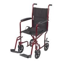 Drive Medical Deluxe Lightweight Aluminum Transport