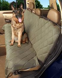 Deluxe Pet Car Seat Cover, Quilted, Water Resistant, and