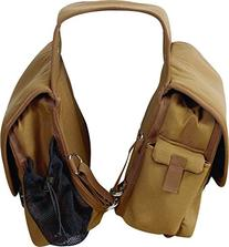 CASHEL Deluxe Saddle Bag Brown One Size