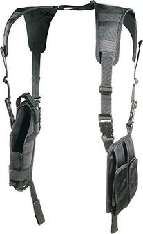 UTG LE Grade Vertical Shoulder Holster, Black
