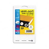 Avery Dennison 05410 Removable ID Labels, 1 in. Diameter,