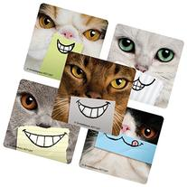 Dental Cat Smiles Stickers - Prizes and Giveaways - 100 per