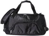 Nike Golf Departure II Duffle Golf Bag, Black/Black
