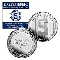 "Derek Jeter Final Season ""New York Yankees Forever"" Coin #4"