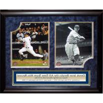 Derek Jeter / Lou Gehrig Framed 2 Photograph Collage