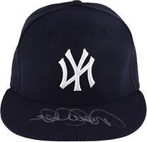 Derek Jeter New York Yankees Autographed Majestic Hat -