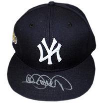 Derek Jeter Steiner Signed Yankees Hat w/ 1996 W.S. Patch-