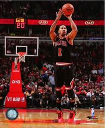 Derrick Rose Chicago Bulls 2013-2014 NBA Action Photo 8x10
