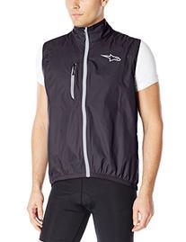 Alpinestars Mens Descender Windproof Vest, X-Large, Black